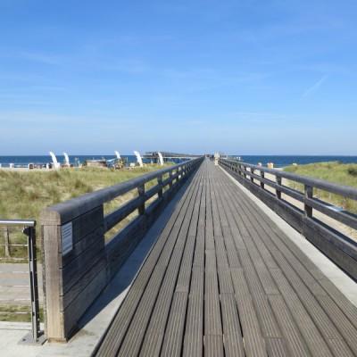 Neue Seebrücke von Heiligenhafen