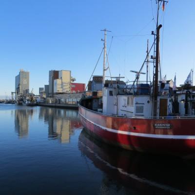 Fischerboote in Heiligenhafen