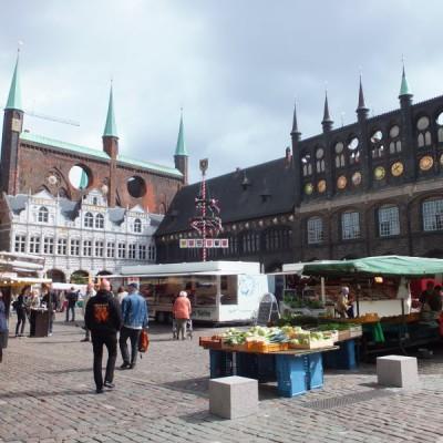 Marktplatz von Lübeck