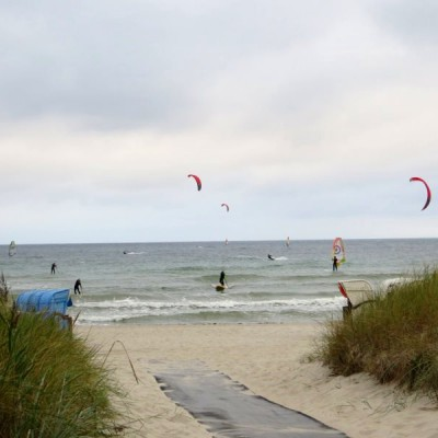 Wassersport am Südstrand