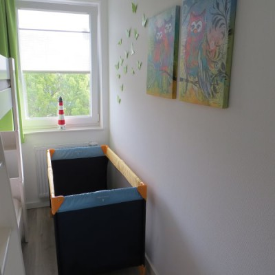 Platz für unser Babybett