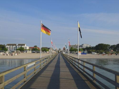 Seebrücke Strandblick