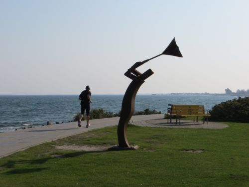 Strandkunst in Heiligenhafen